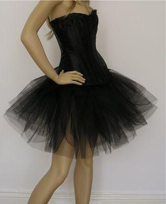 Size  Black Dress on Am A Plus Size Girl What Corset Tutu Dress Do You Think Will Look
